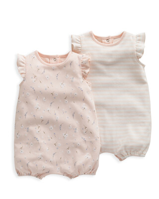 Floral Rompers 2 Pack