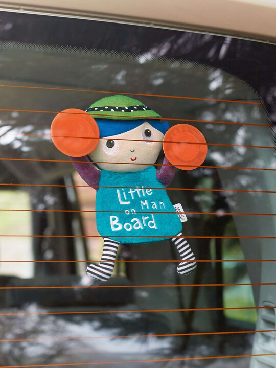 شارة Little Man On Board - Babyplay image number 2