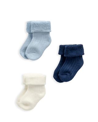 Blue Socks 3 Pack