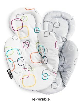 بطانة بوجهين لحديثي الولادة من فور مامز - متعدد الألوان