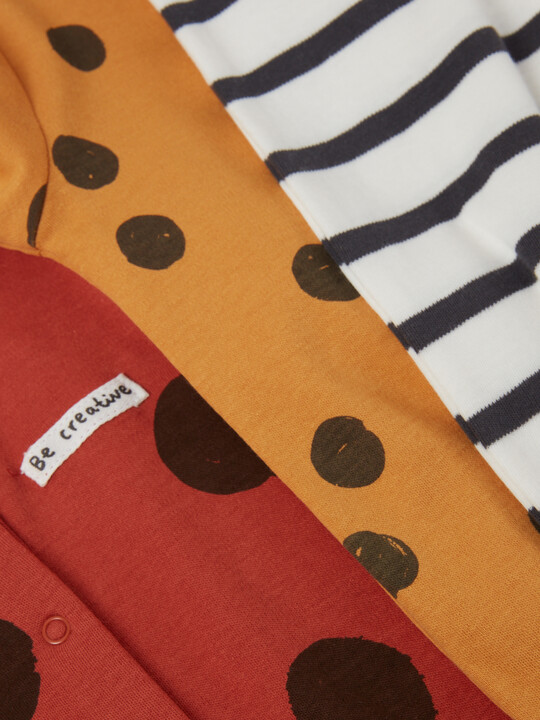 3Pack of  LARGE SPOT Sleepsuits image number 3