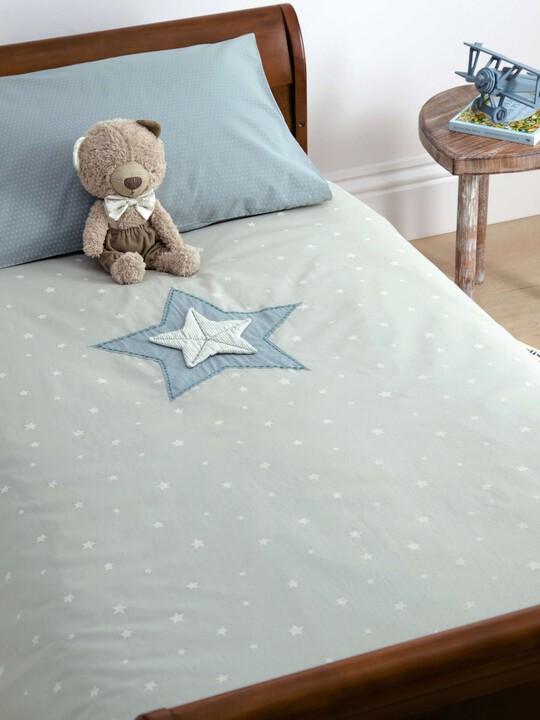C/BED DUVET CVR & PC - M&B BLUE image number 4