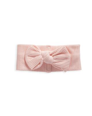 Pink Jersey Rib Headband