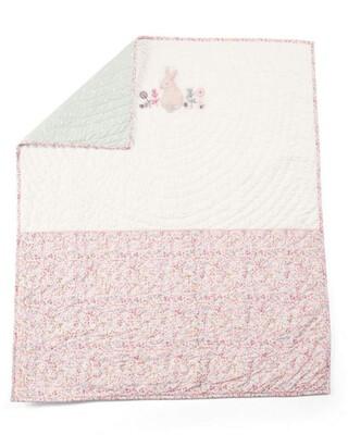 غطاء سرير ليلي بيل للمهد - وردي