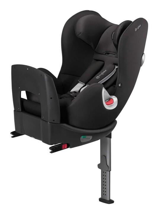 مقعد سيارة Cybex Sirona - أسود رقيق image number 1
