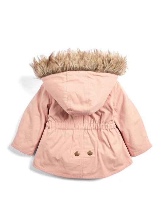 معطف باركر 2 في 1 - وردي image number 2