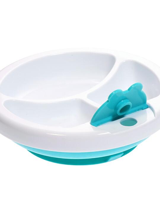 طبق للحفاظ على حرارة الطعام بلاتو من بيبي لوف - أزرق image number 5