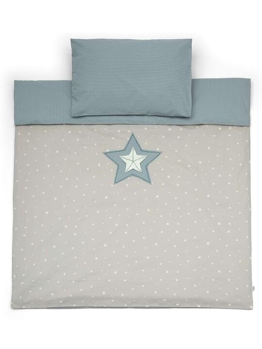 C/BED DUVET CVR & PC - M&B BLUE image number 1