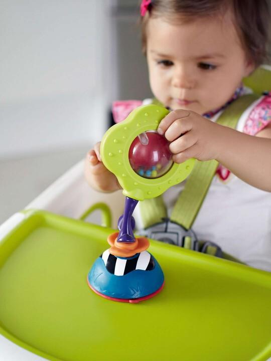 لعبة المقعد المرتفع من Babyplay - الوردة الهزازة image number 4