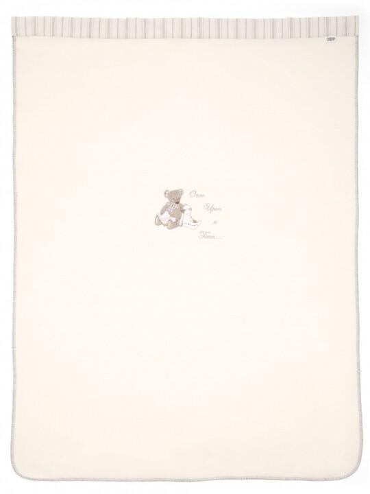 بطانية صوفية كبيرة مطرزة للجنسين من Once Upon A Time (الطول: 160 × العرض: 120 سم) image number 2