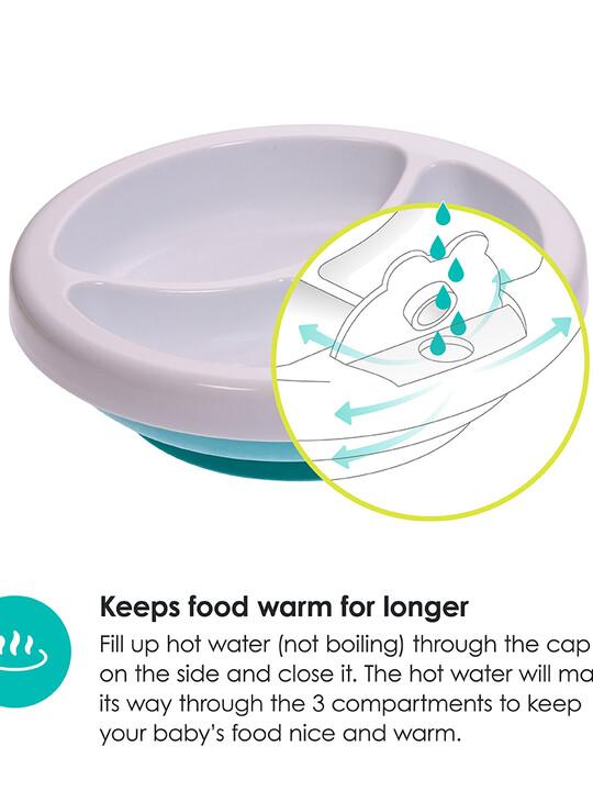 طبق للحفاظ على حرارة الطعام بلاتو من بيبي لوف - أزرق image number 2