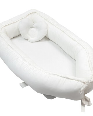 كيس نوم محمول ماي ليتل أنجل من فيريز - أبيض كريمي