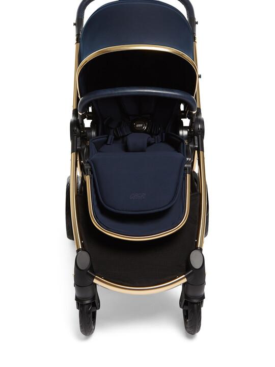 عربة أطفال أوكارو - أزرق داكن image number 3