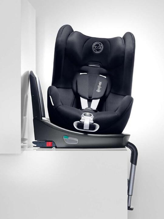 مقعد سيارة Cybex Sirona - أسود رقيق image number 2