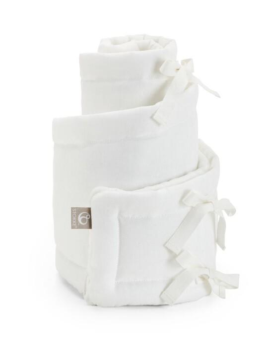 Sleepi Mini Bumper Classic:White :One Size image number 4