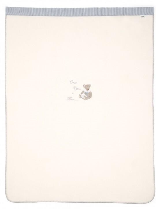 بطانية صوفية كبيرة مطرزة للأولاد من Once Upon A Time (الطول: 160 × العرض: 120 سم) image number 2