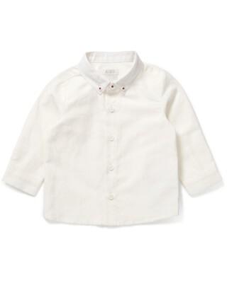 قميص أكسفورد أبيض