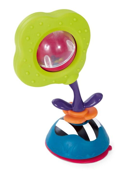 لعبة المقعد المرتفع من Babyplay - الوردة الهزازة image number 2