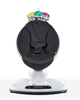 كرسي هزاز/ارتدادي مامارو 4.0 من فور مامز - أسود كلاسيكي