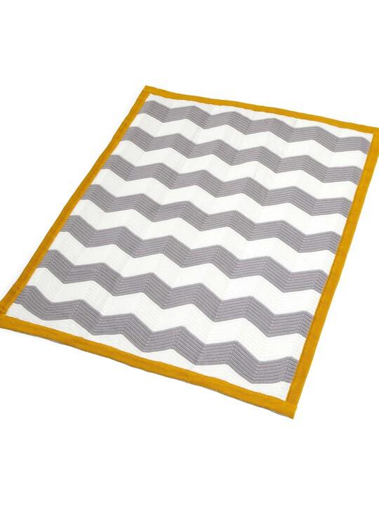 بطانية Chevron المعقودة - من Patternology - مقاس 70 × 90 سم image number 2
