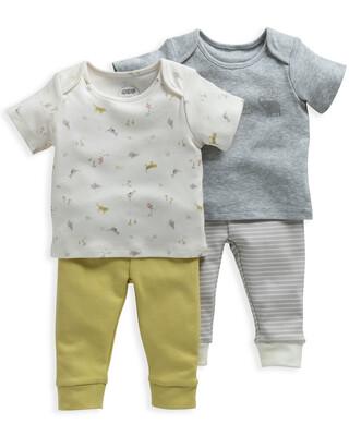 Safari Print Pyjamas 2 Pack