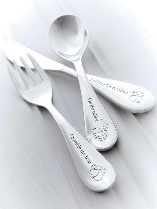 مجموعة أدوات تناول الطعام الفضية من Once Upon a Time image number 2