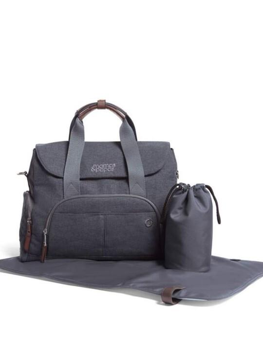 حقيبة بولينغ للتغيير - كحلي image number 3