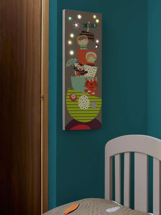 اللوحة الكتانية المضائة بمصابيح LED - Timbuktales image number 4