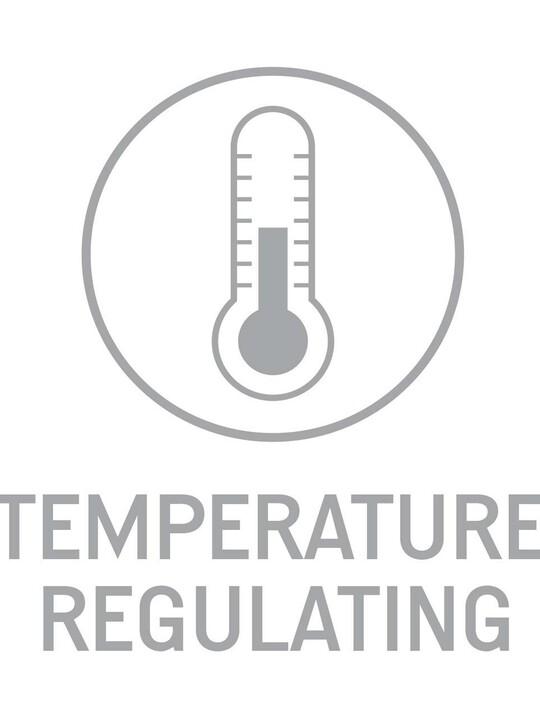 مرتبة المهد ذات اليايات المغلفة المضادة للحساسية والمنظمة للحرارة image number 4